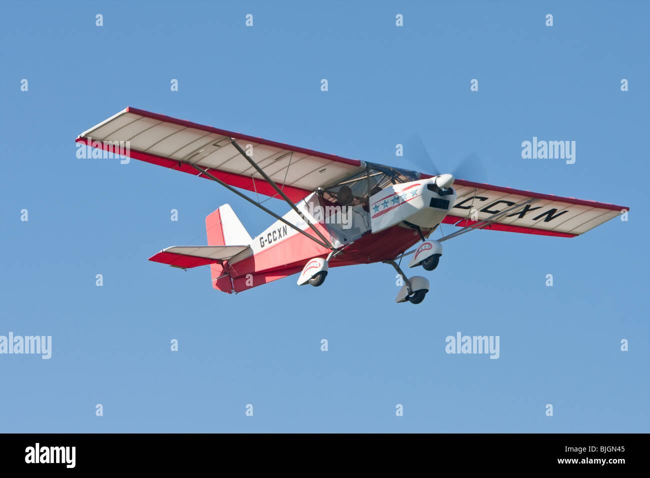Chegwen CI Skyranger 912 microlight, at Breighton - Stock Image