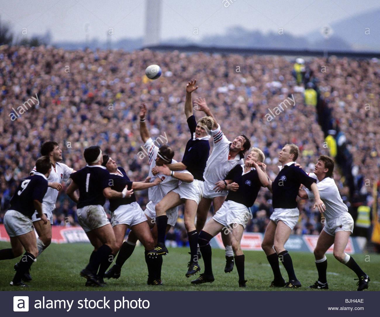 Scotland V Australia World Rugby: Doddie Weir Stock Photos & Doddie Weir Stock Images