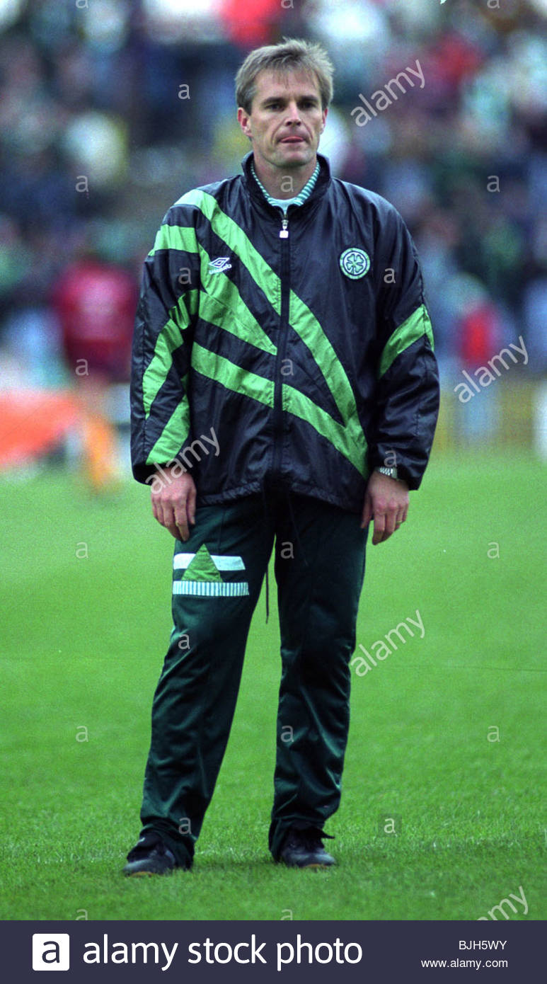 1992/1993 Celtic physiotherapist Brian Scott - Stock Image