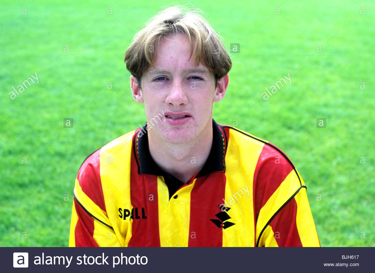 1992/1993 Partick's Kevin Magee - Stock Image