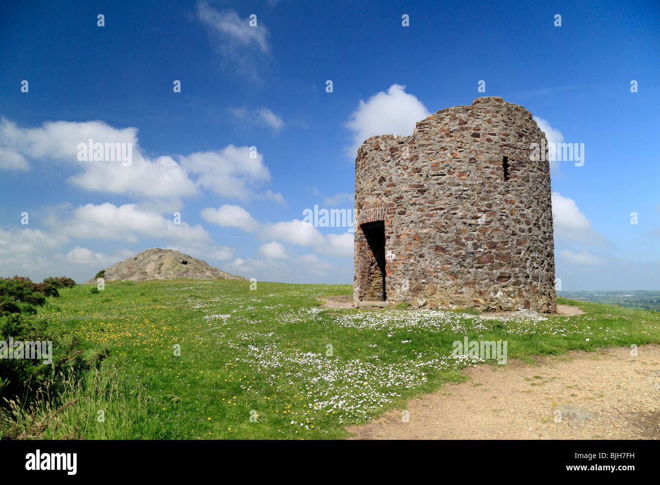 Memorial to the 1798 Rebellion on top of Vinegar Hill, Enniscorthy, Ireland. - Stock Image