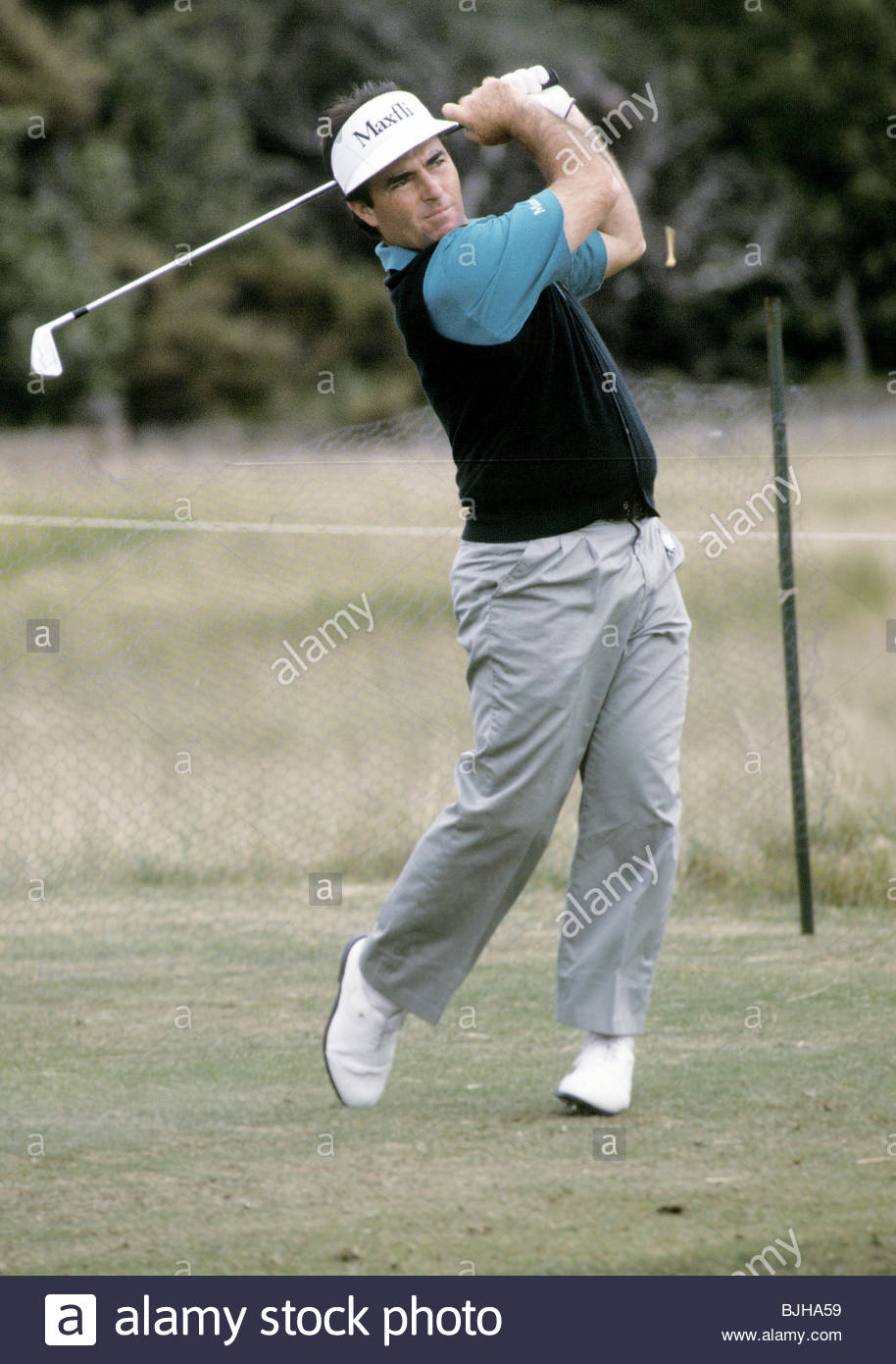 1992/1993 Golfer Craig Parry in action - Stock Image