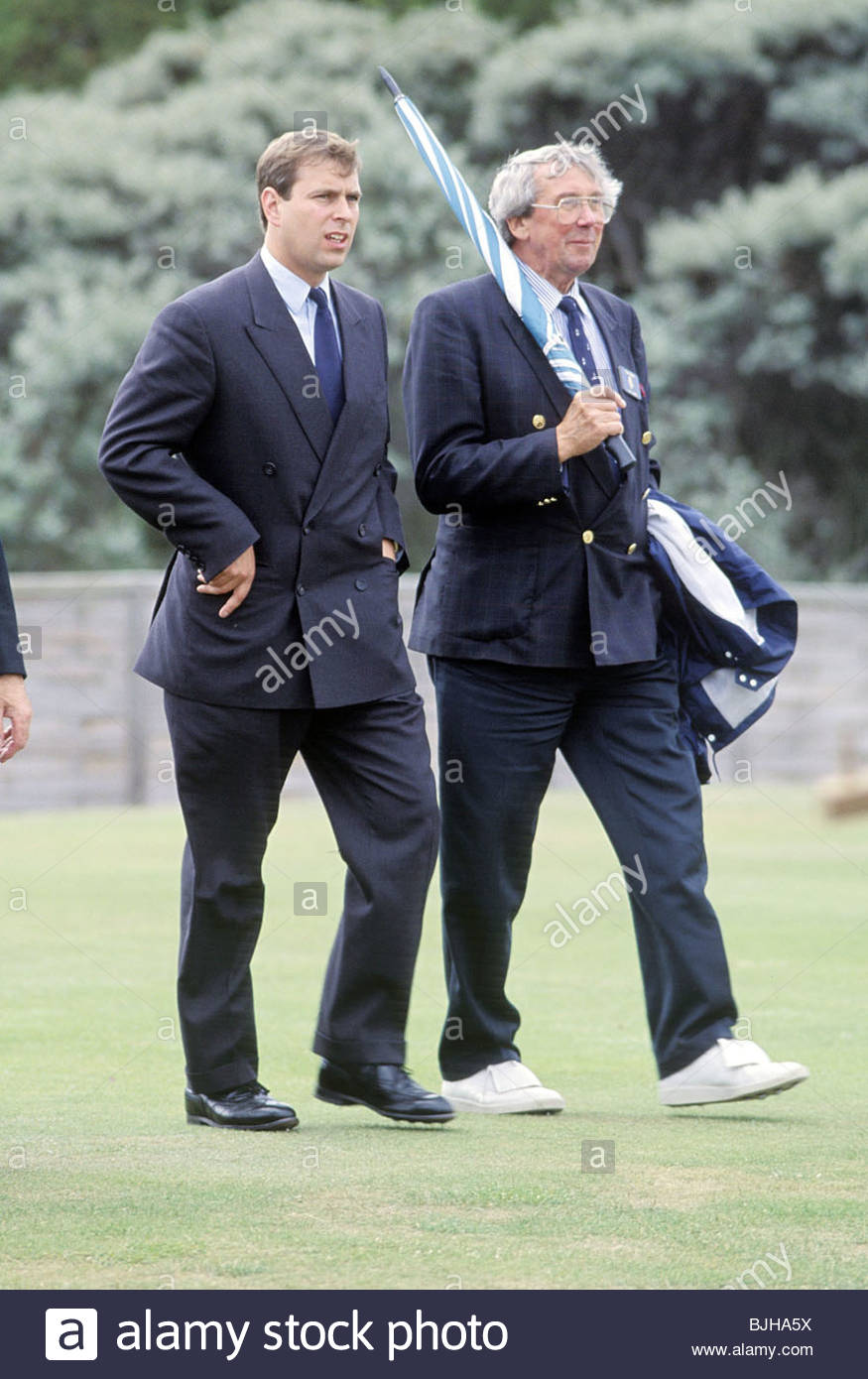 1992/1993 HRH Prince Andrew - Stock Image