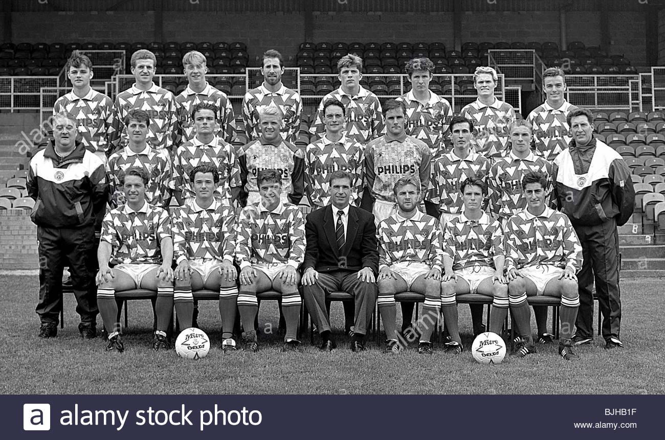 SEASON 1992/1993 HAMILTON Hamilton team picture - Stock Image