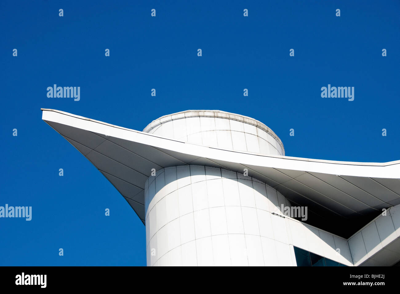 modern abstract architecture - Stock Image