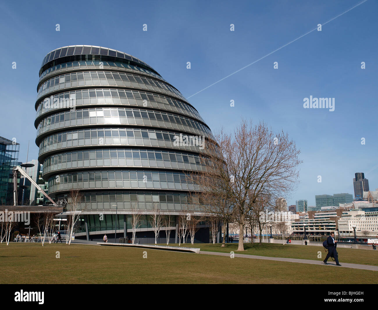 Greater London Authority, City Hall, The Queen's Walk, More London, London SE1 2AA - Stock Image