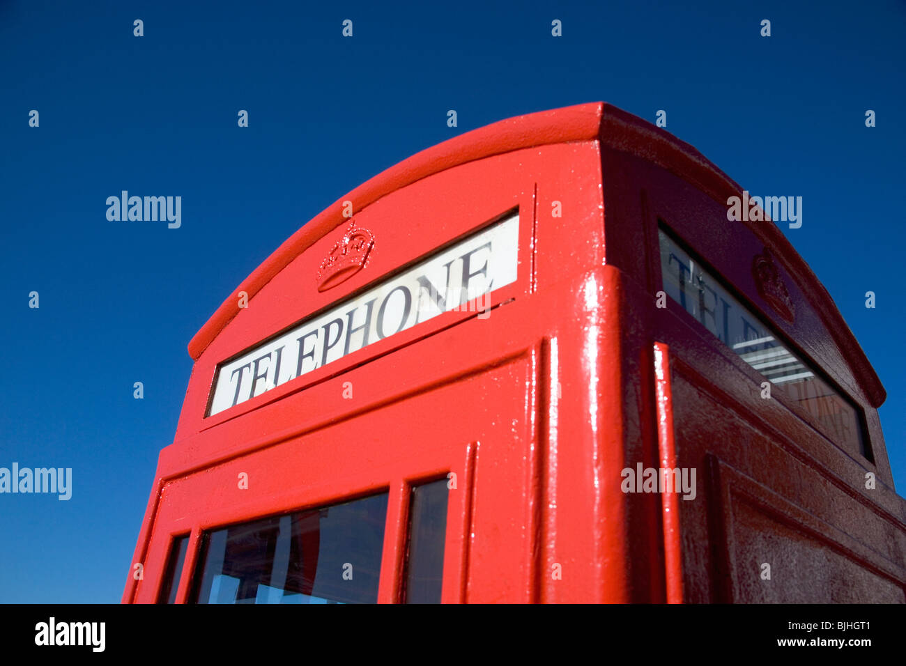 Telephone booth - Stock Image