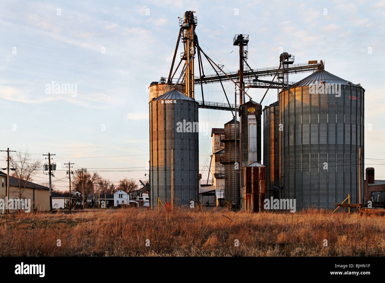 Ill Elevator Stock Photos & Ill Elevator Stock Images - Alamy