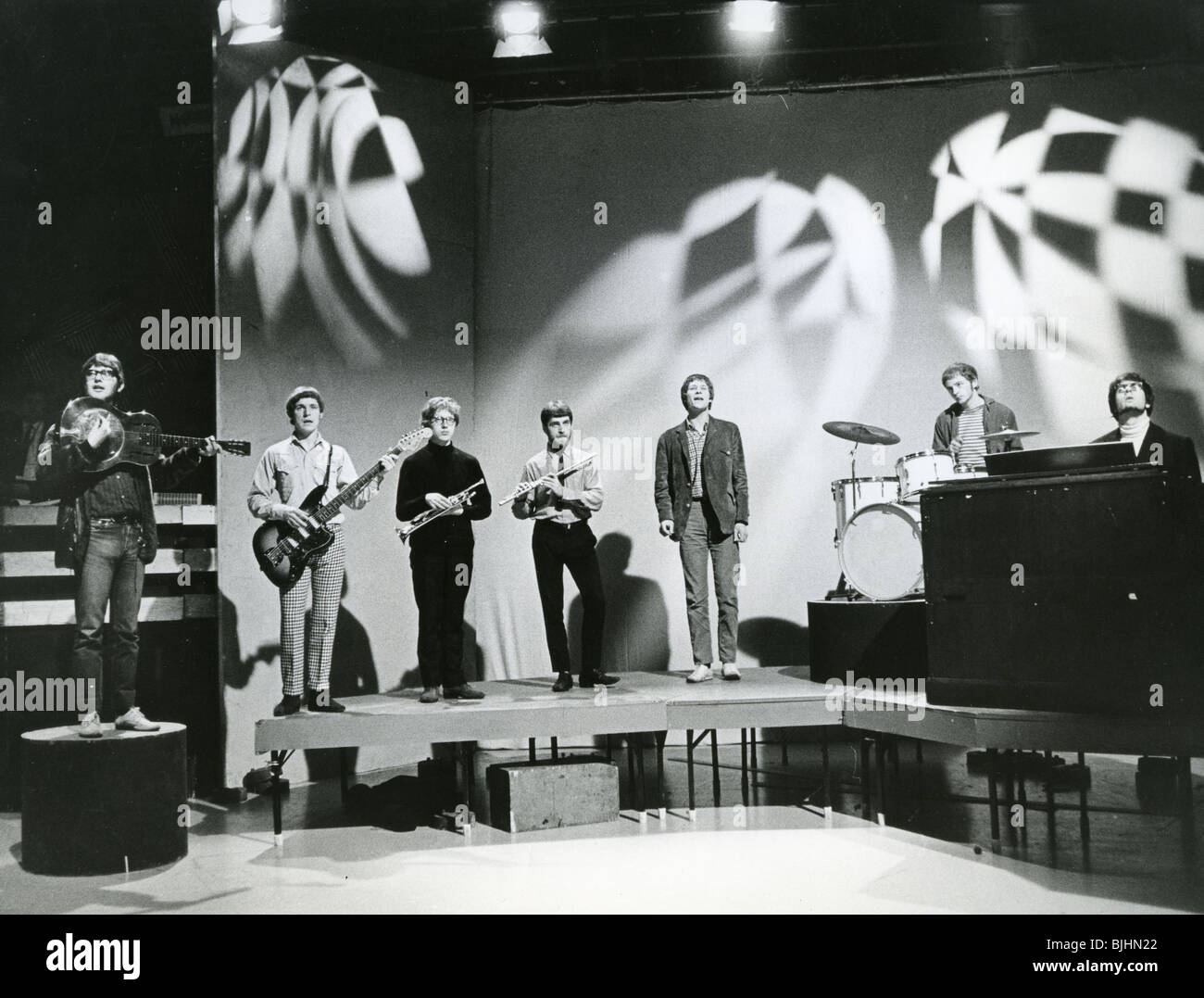 MANFRED MANN on Top Of The Pops in 1965. Photoi: Tony Gale - Stock Image