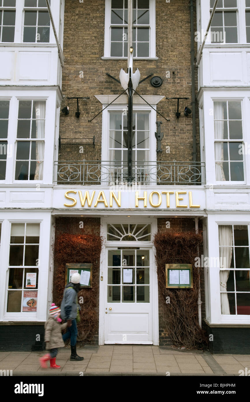 The Swan Hotel, Southwold, Suffolk, UK - Stock Image