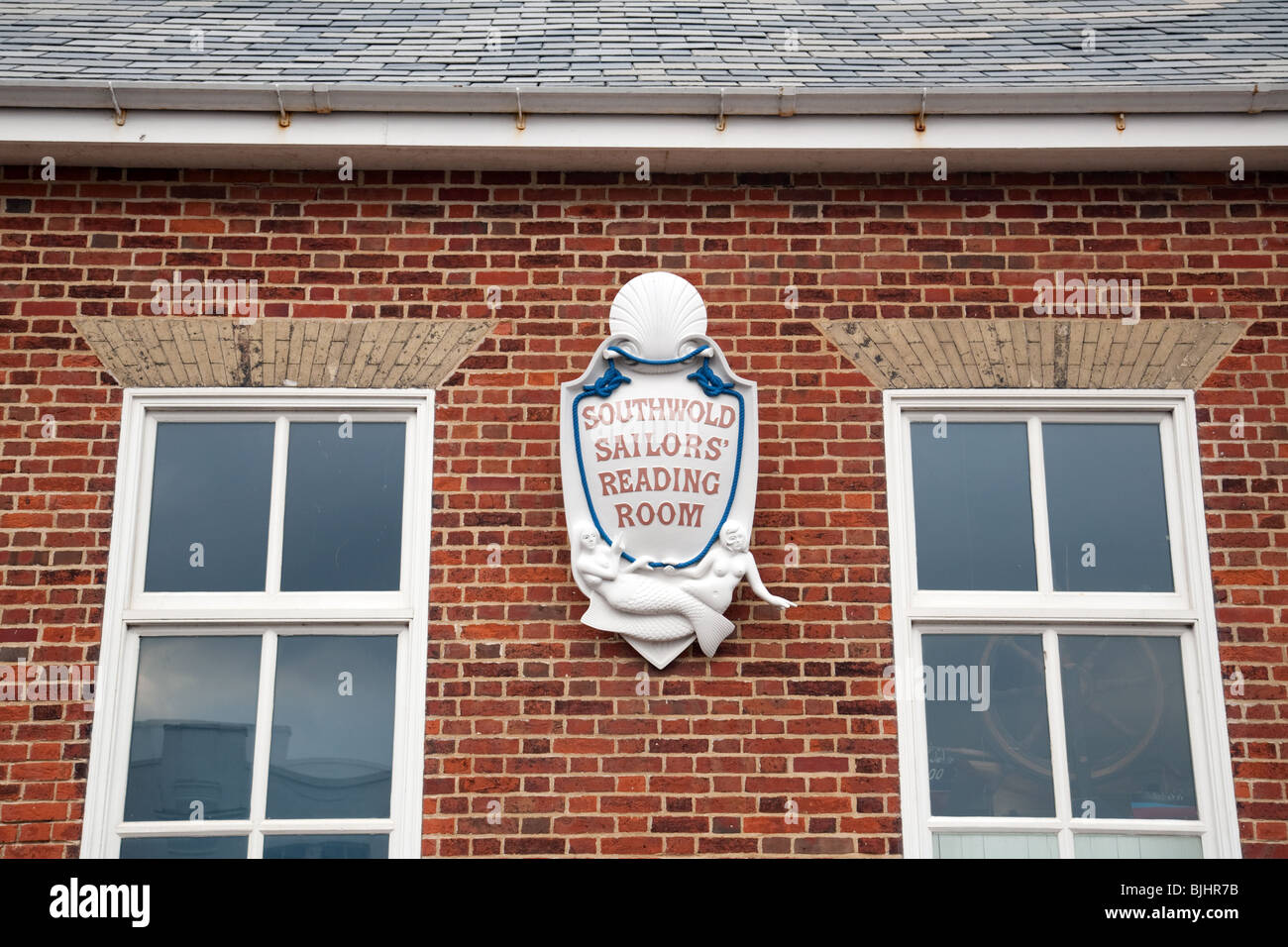 Southwold sailors reading room, Southwold, Suffolk, UK - Stock Image