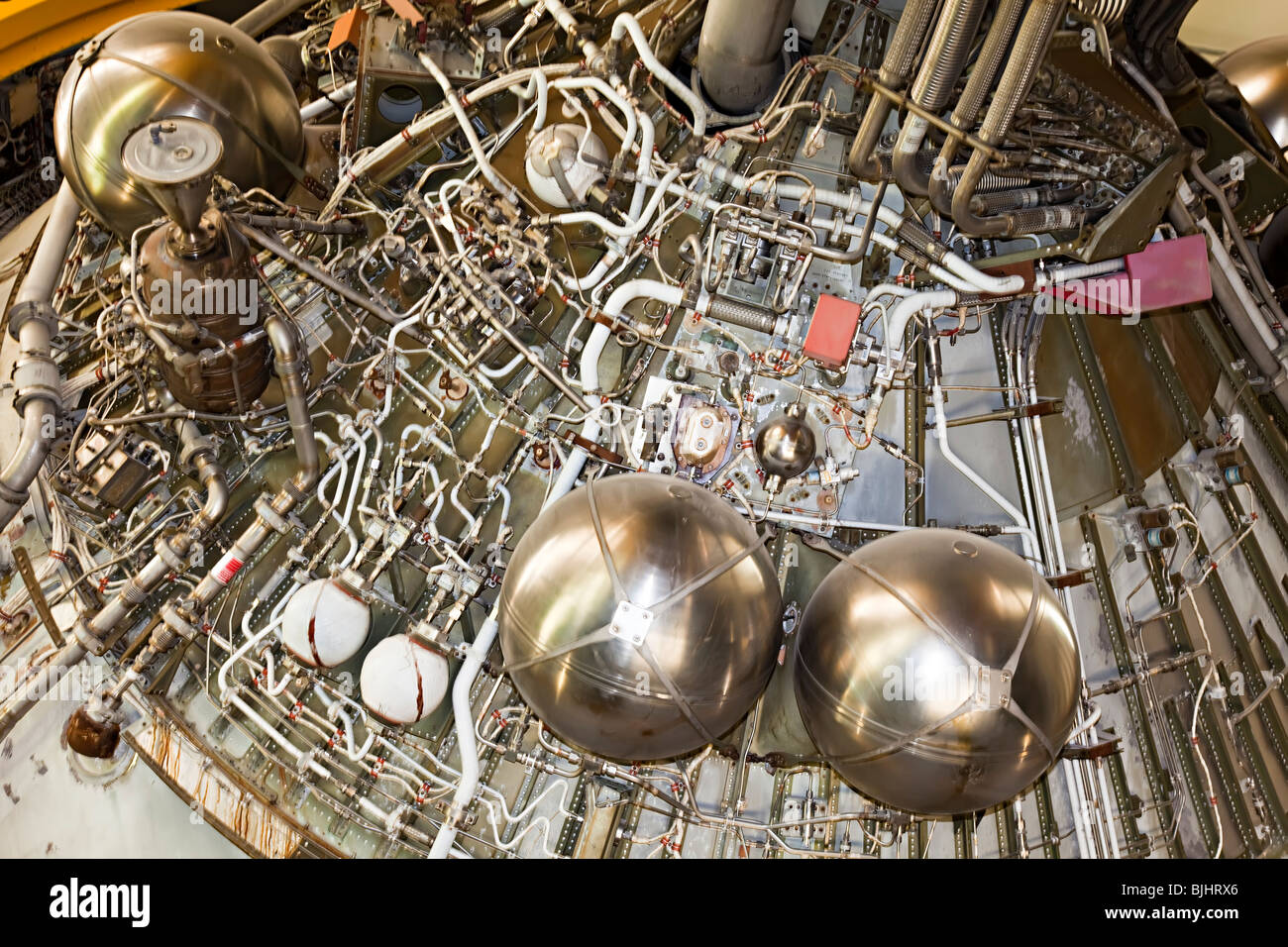 Rocket Engine Space Stock Photos Images Saturn V F1 Diagram Detail Of On Nasa Center Houston Texas Usa Image