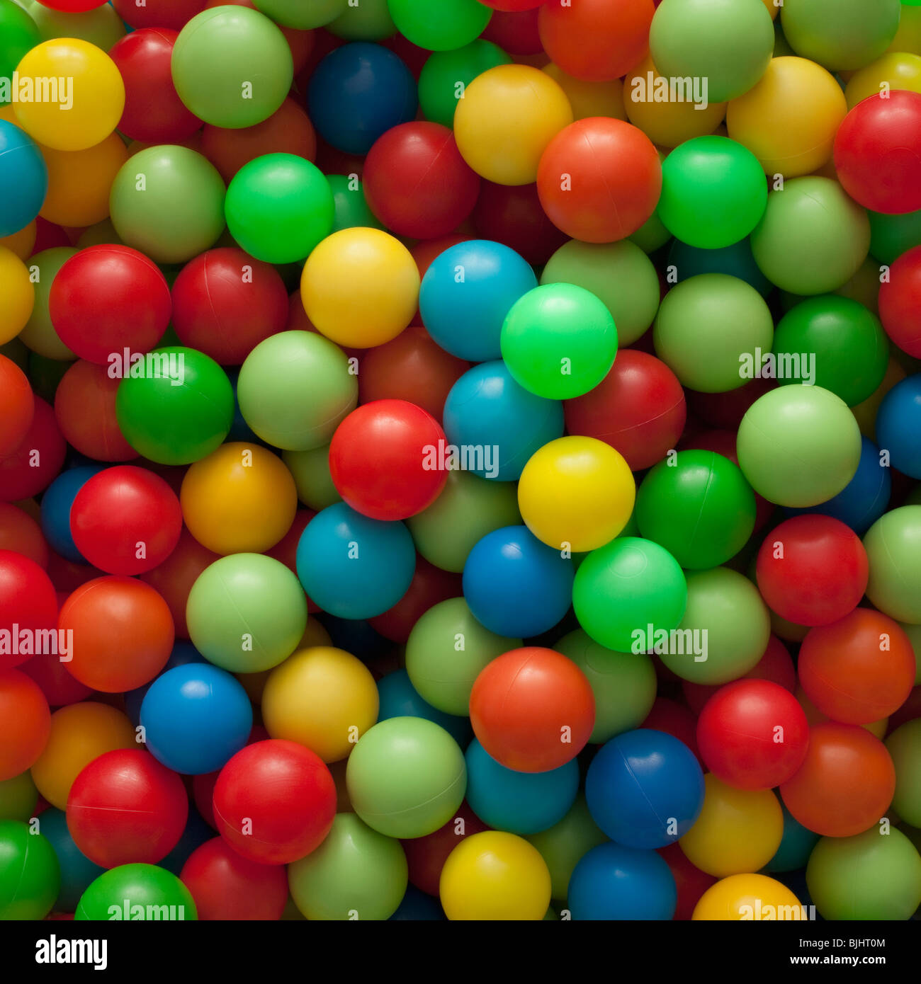 Colorful balls - Stock Image