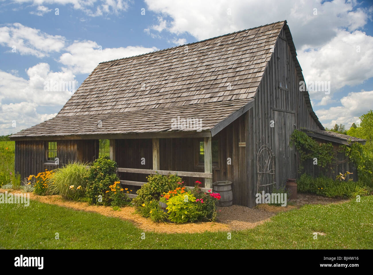 Walt Disney Barn 'Happy Place' - Stock Image