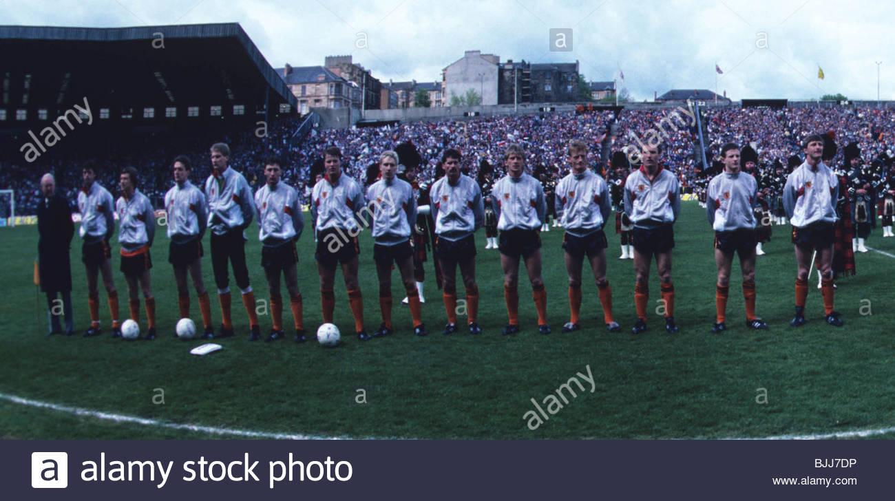 1987/1988 Dundee Utd - Stock Image