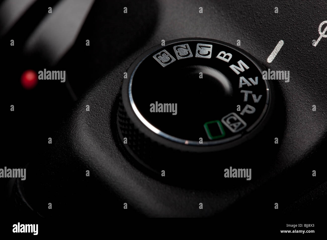 Selection of manual mode