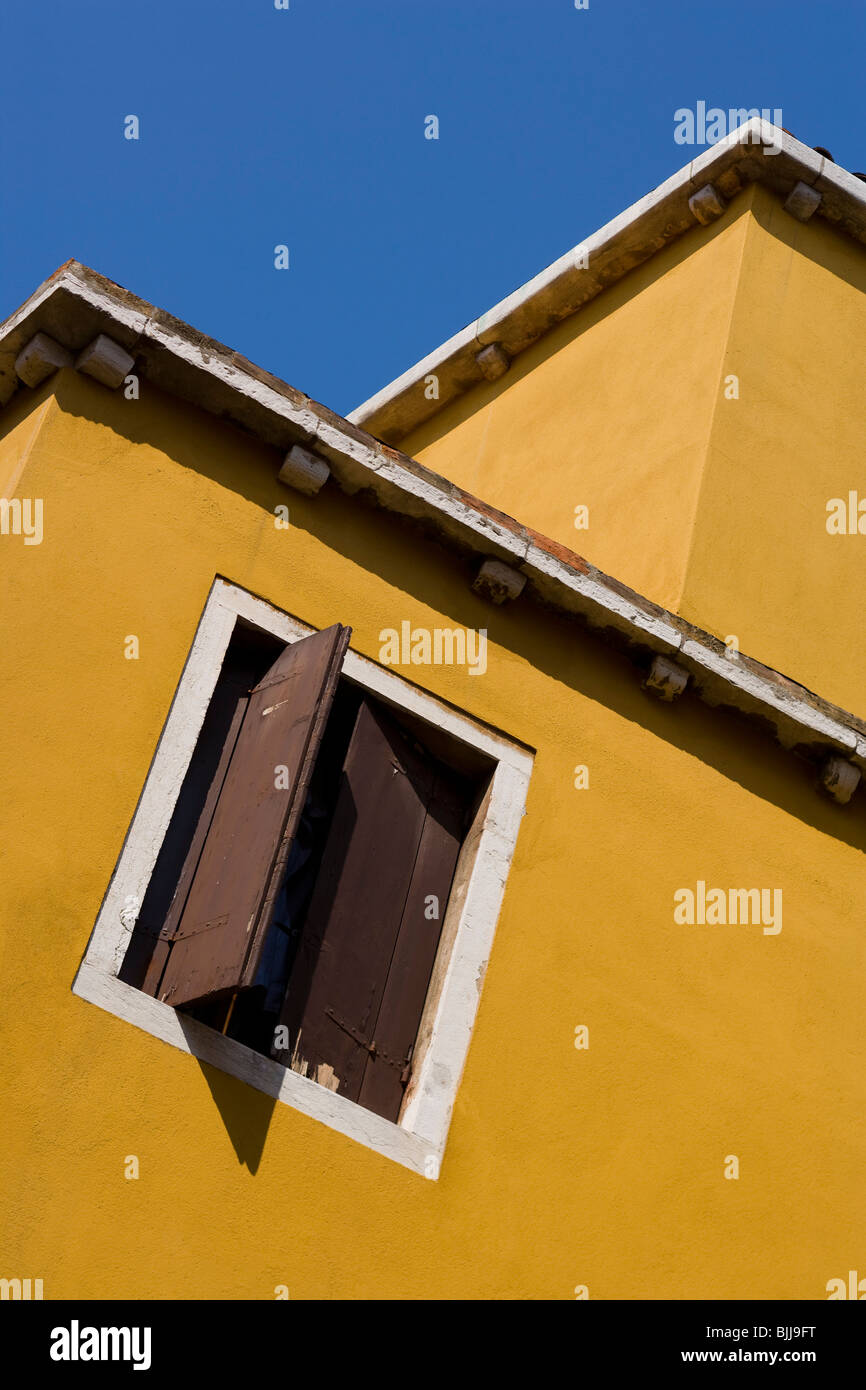 Building detail with windows Stock Photo