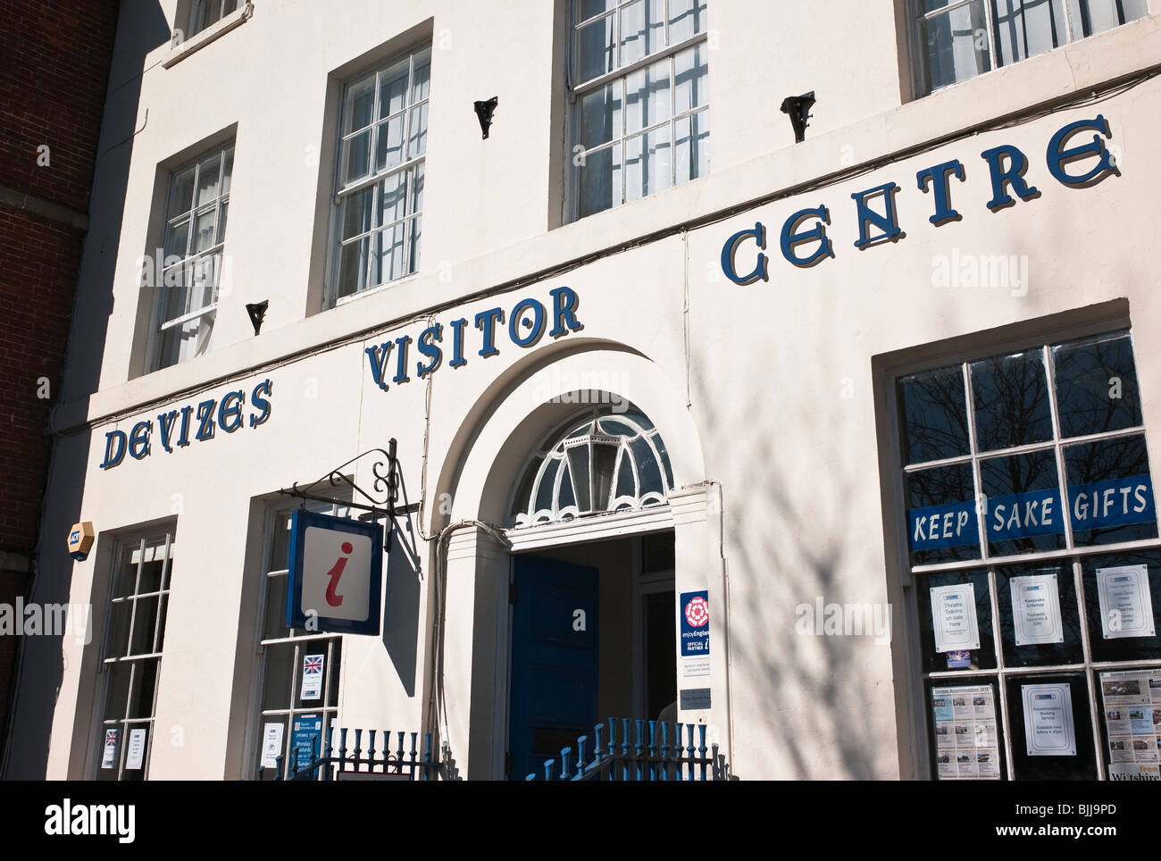 Devizes Visitor Centre in Wiltshire England UK EU - Stock Image