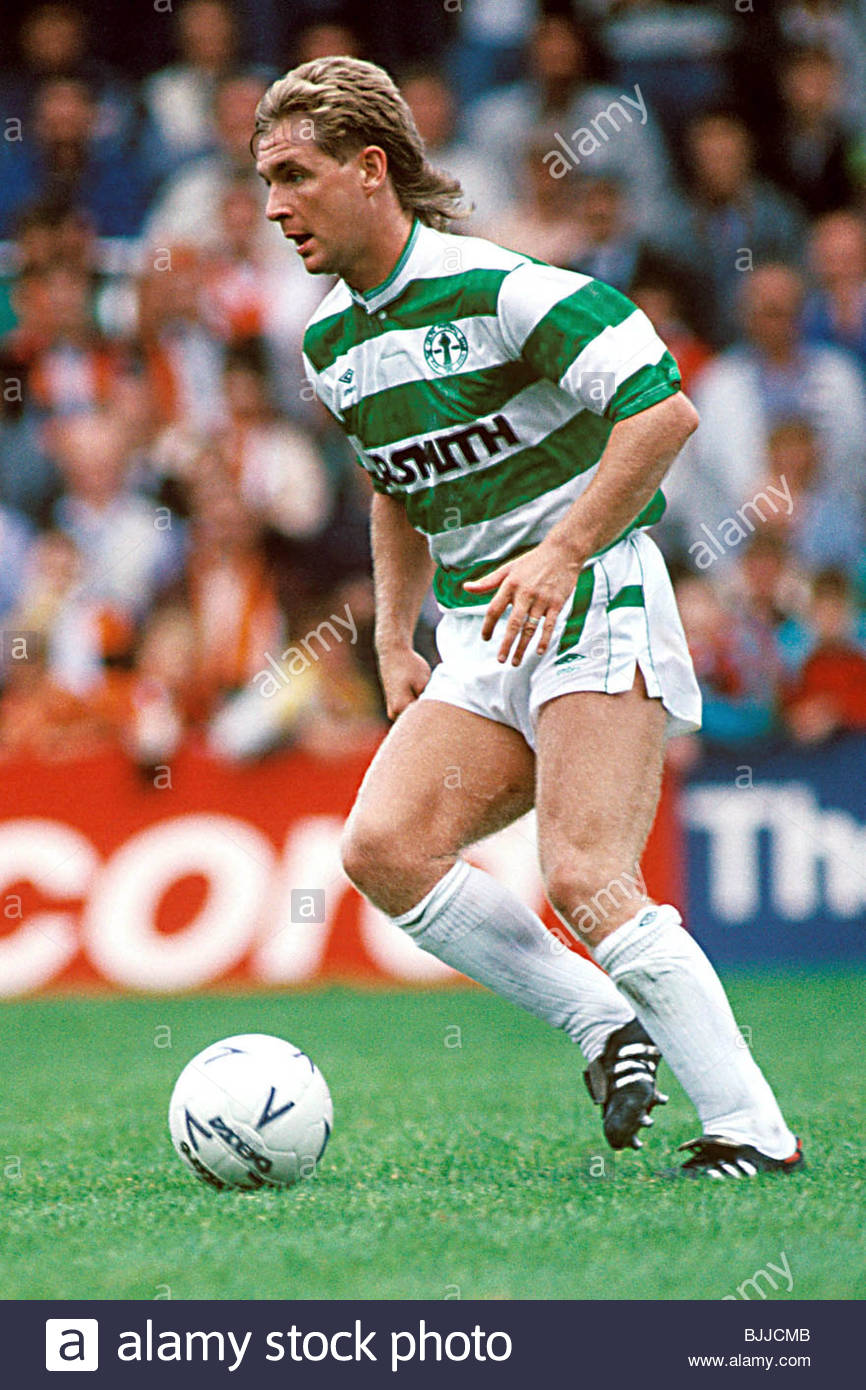 SEASON 1988/1989 CELTIC Peter Grant in Action - Stock Image