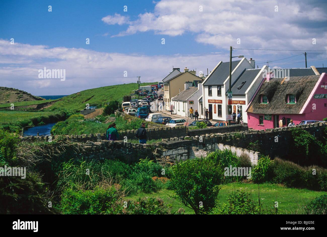 Doolin County Clare - Stock Image