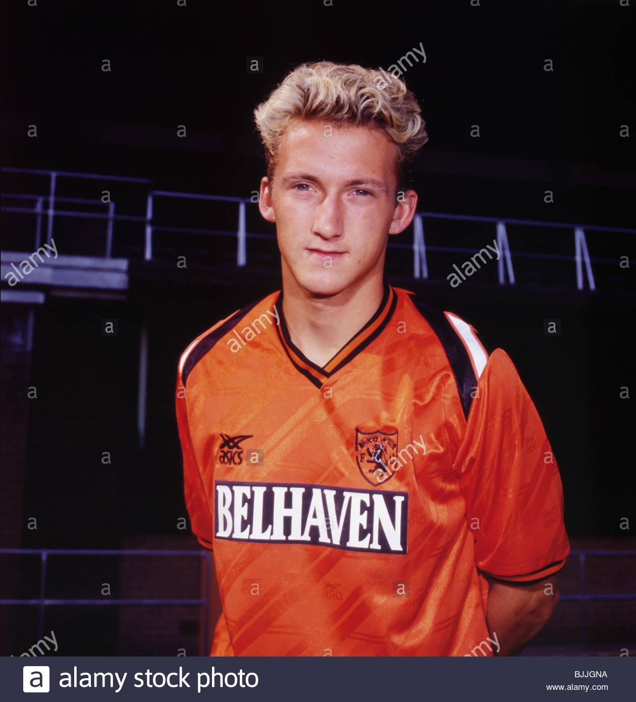 1989/1990 Billy McKinlay of Dundee Utd - Stock Image
