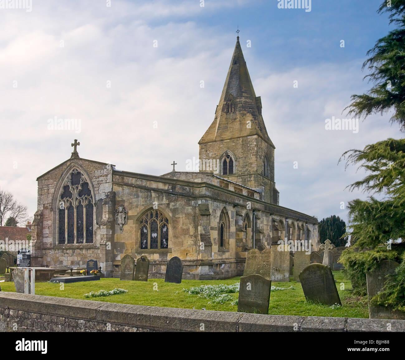 All Saints Parish Church, Misterton, Nottinghamshire Stock Photo