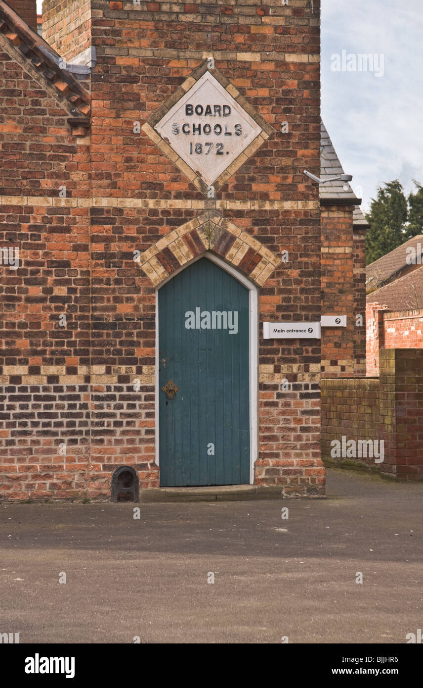 The old primary school at Misterton, Nottinghamshire. Stock Photo