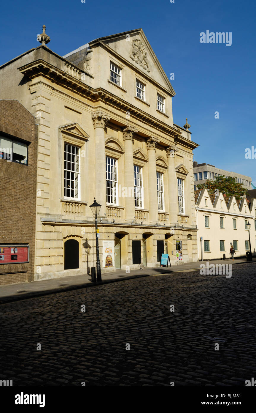 The Theatre Royal in King Street. Home of the Bristol Old Vic Theatre Company. Bristol, England, United Kingdom. - Stock Image