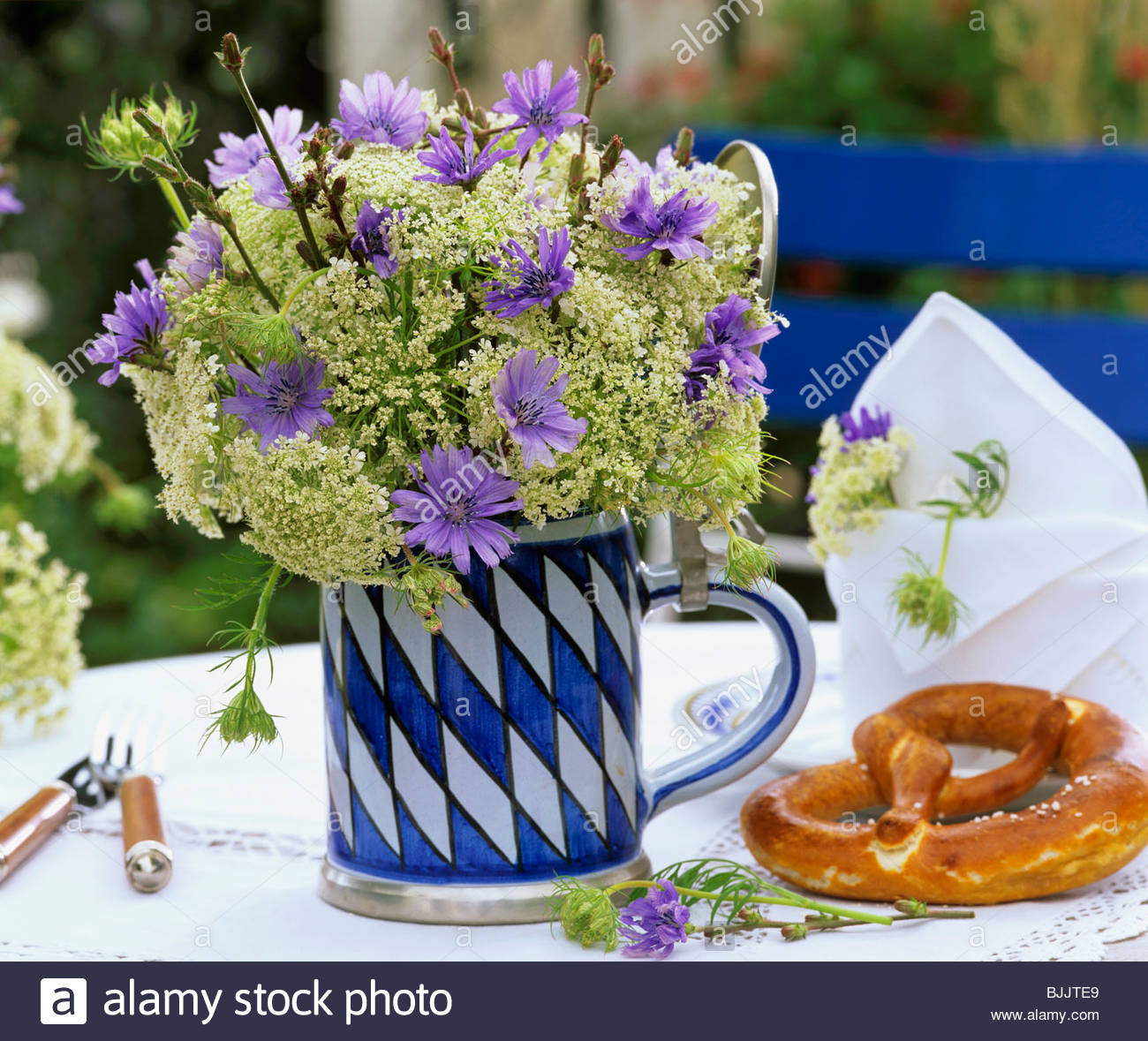 Beer Stein Pretzel Stock Photos & Beer Stein Pretzel Stock Images ...