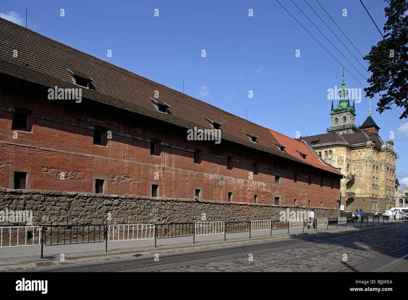 Lviv,Lvov,City weaponry Arsenal,Western Ukraine - Stock Image