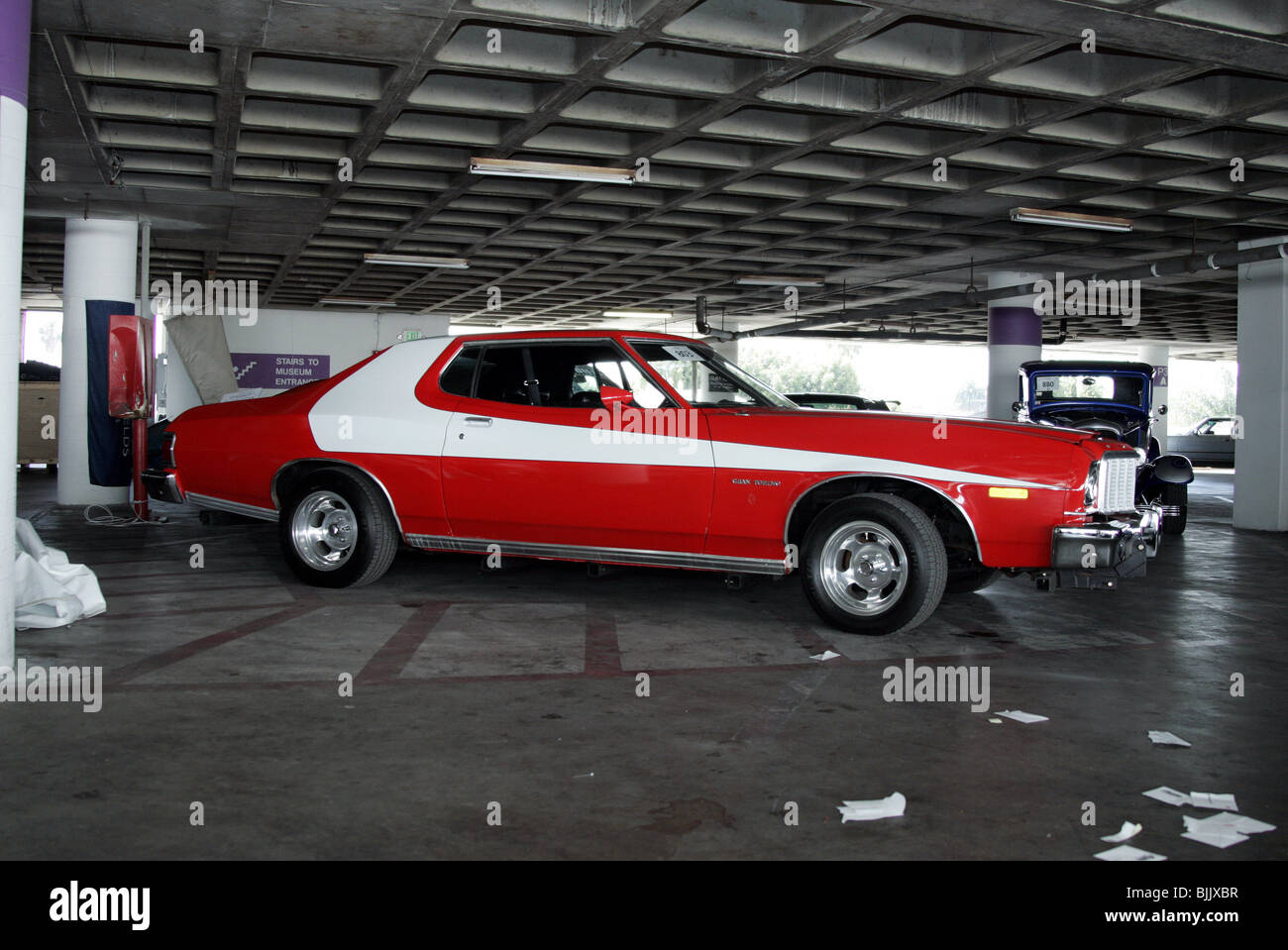 Starsky And Hutch Tv Stock Photos 1964 Ford Grand Torino 1975 Gran George Barris Collection Of Ku Petersen Museum Los