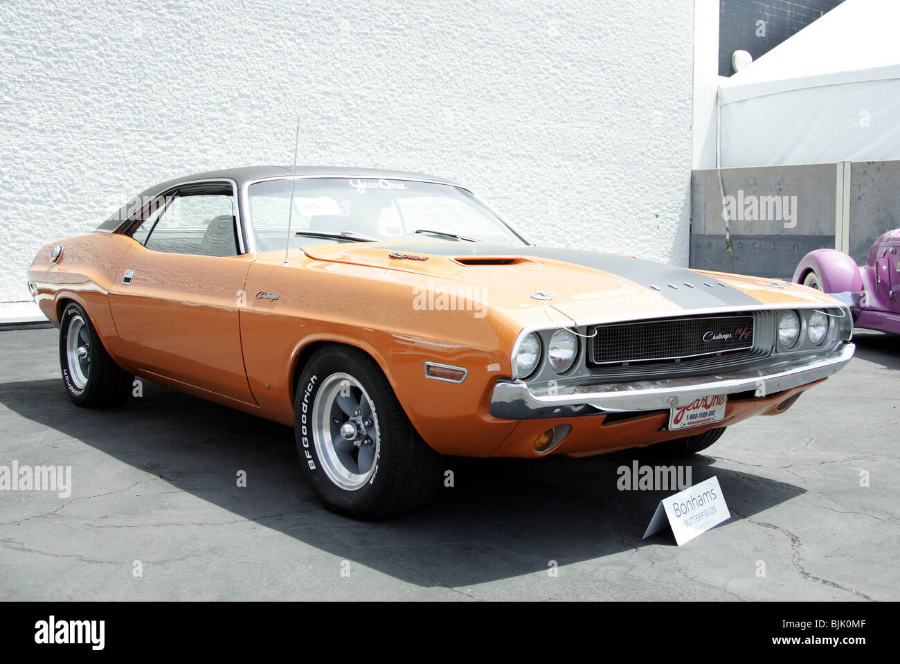 2FAST 2FURIOUS 1970 DODGE CHALLENGER 426 HEMI GEORGE BARRIS COLLECTION OF KU PETERSEN MUSEUM LOS ANGELES USA 13 - Stock Image