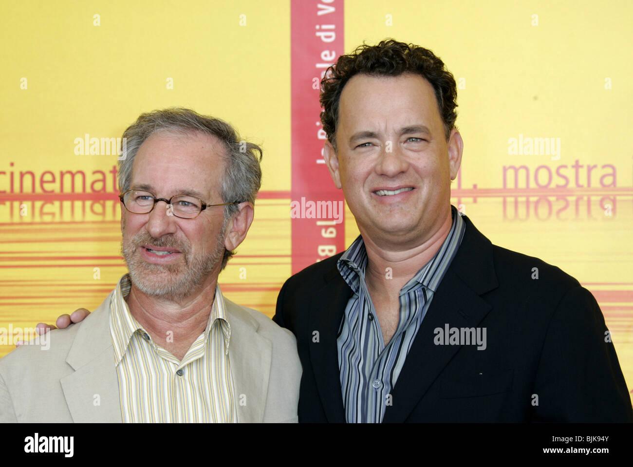 Steven Spielberg Tom Hanks 61st Venice Film Festival Ter Lido