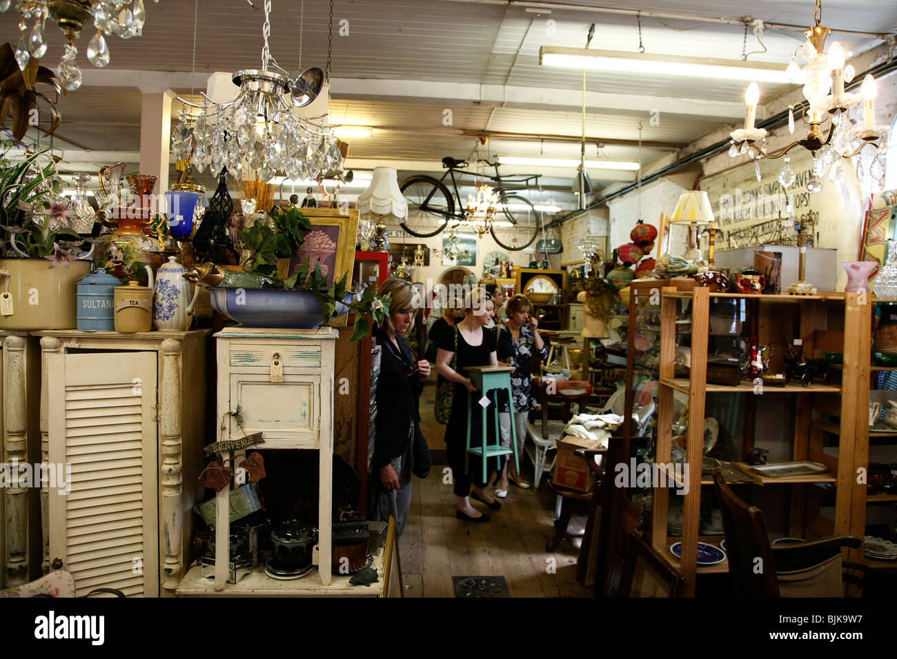 England East Sus Lewes North Street Flea Market Antiques And Second Hand Goods Shop