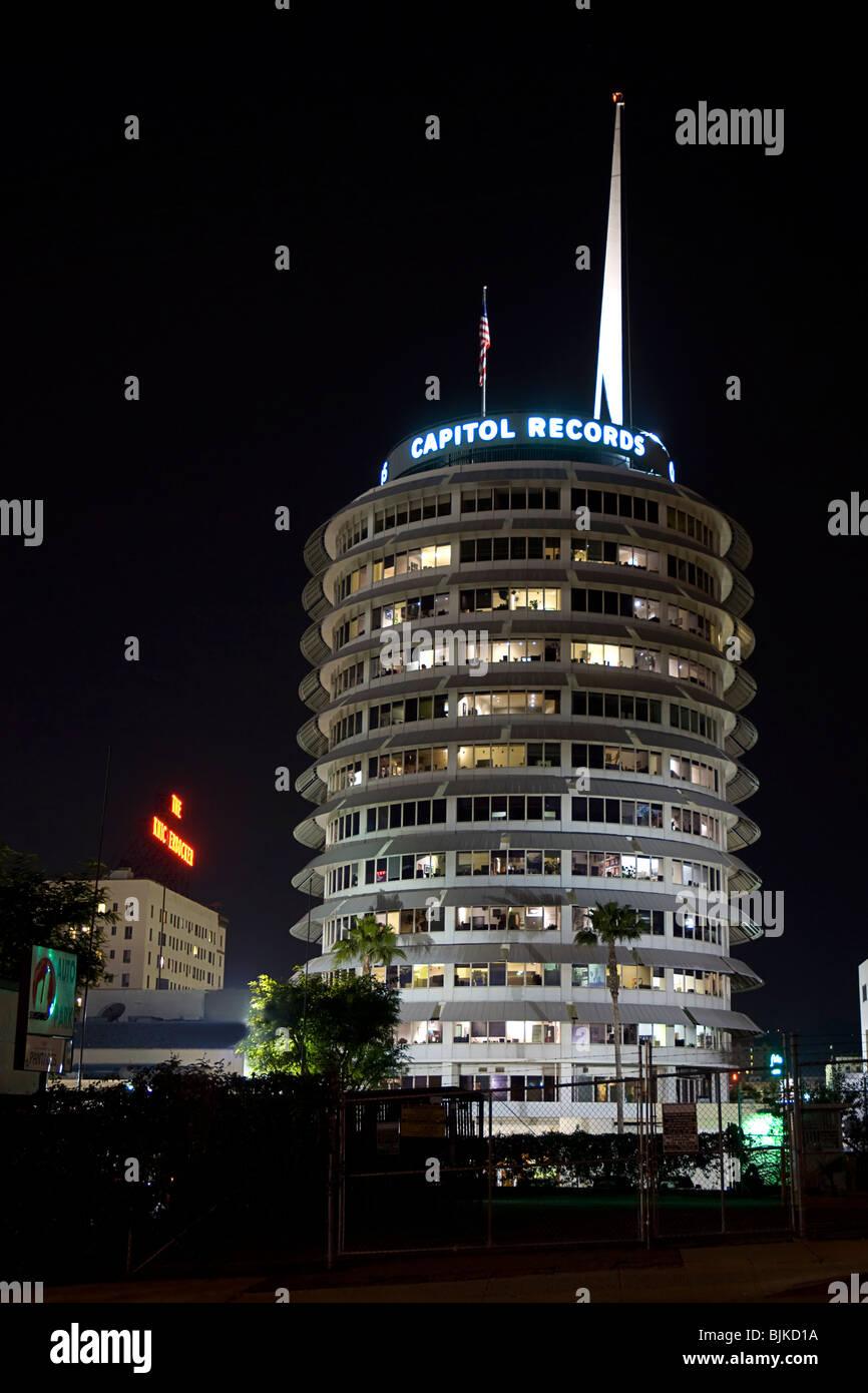 Hollywood Records: Capitol Records Stock Photos & Capitol Records Stock