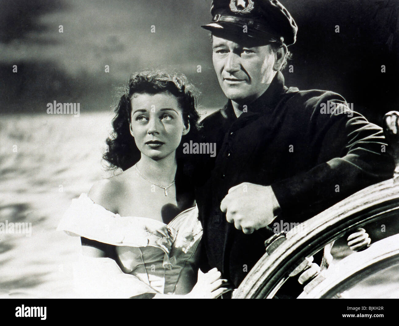 WAKE OF THE RED WITCH (1948) GAIL RUSSELL, JOHN RUSSELL EDWARD LUDWIG (DIR) WAKE 001P - Stock Image