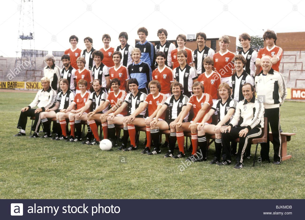 SEASON 1981/1982 ST MIRREN St Mirren team picture - Stock Image