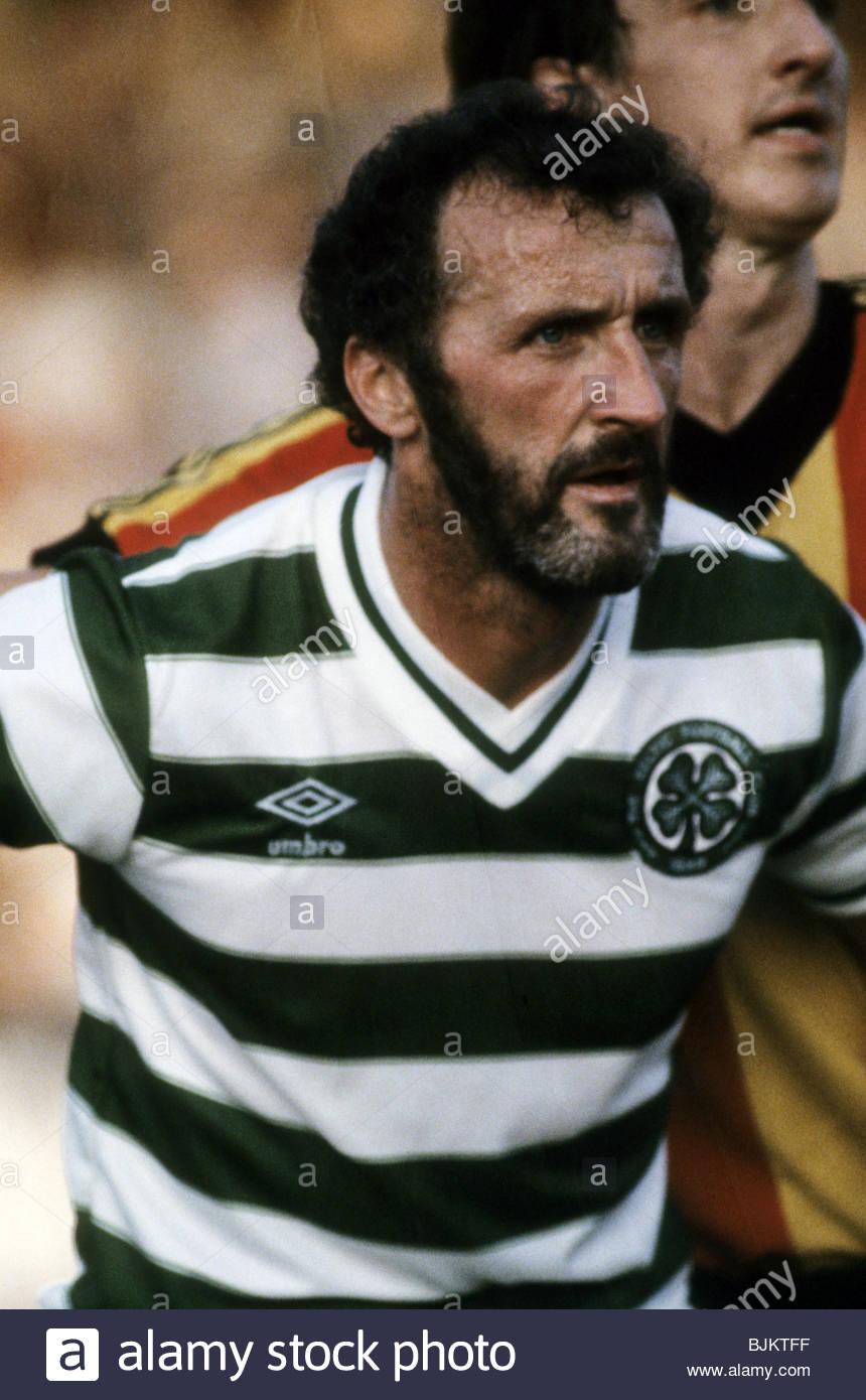 09/08/83 GLASGOW CUP PARTICK THISTLE v CELTIC (0-2) FIRHILL - GLASGOW Celtic's Danny McGrain. - Stock Image