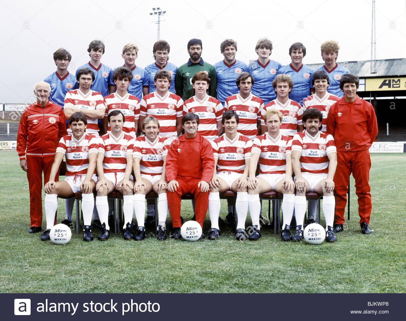 1983/1984 HAMILTON Hamilton team picture - Stock Image
