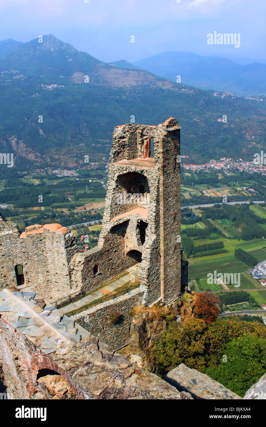 Sacra di San Michele in Val Susa. - Stock Image