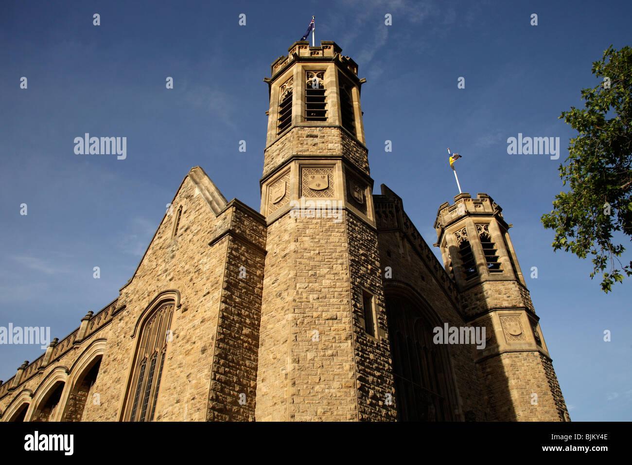 Historic buildings of the University of Adelaide, South Australia, Australia Stock Photo
