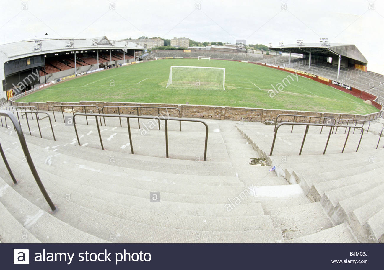 SEASON 1984/1985 FIRHILL - GLASGOW Firhill Stadium, home ground of Partick Thistle. - Stock Image