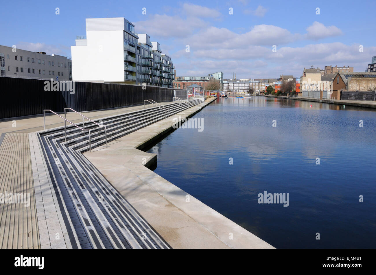 City Road basin, Islington, London, England, UK. - Stock Image