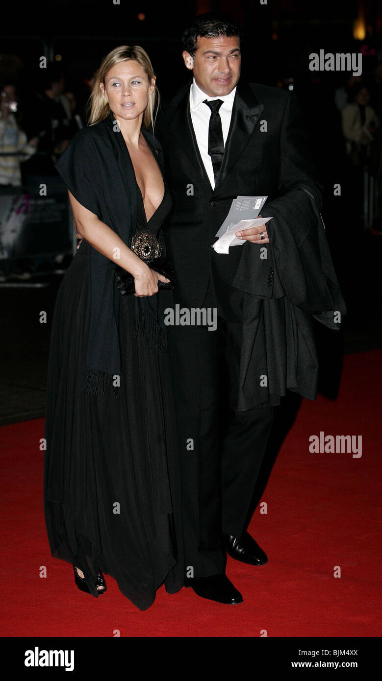 TAMAR HASSAN OPENING NIGHT GALA OF THE LONDON FILM FESTIVAL 2007 - EASTERN PROMISES FILM PREMIERE THE ODEON LEICESTER - Stock Image