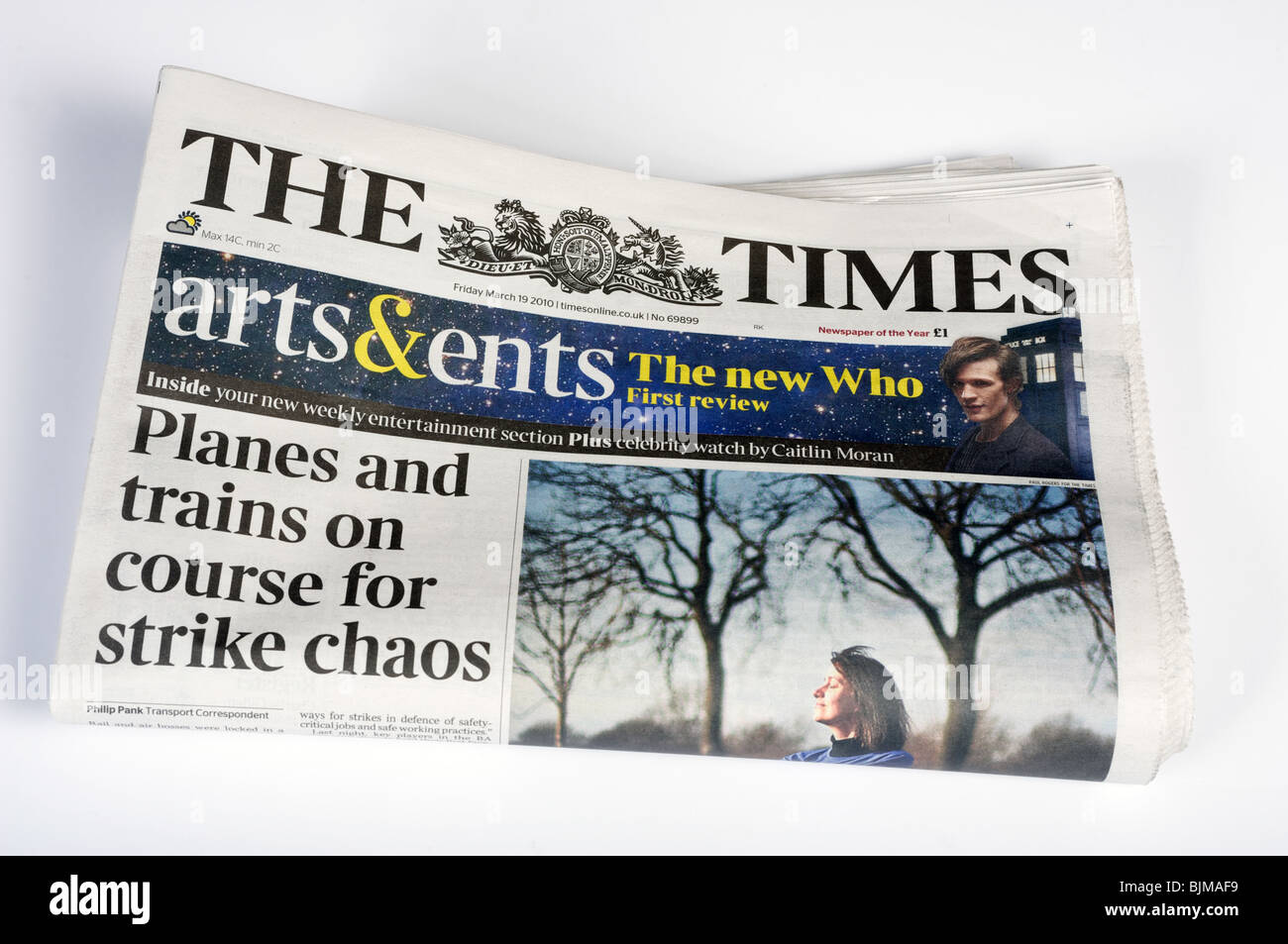 The Times newspaper - Stock Image