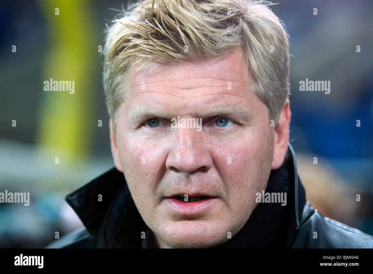 Former professional soccer player Stefan Effenberg, Sinsheim, Baden-Wuerttemberg, Germany, Europe - Stock Image