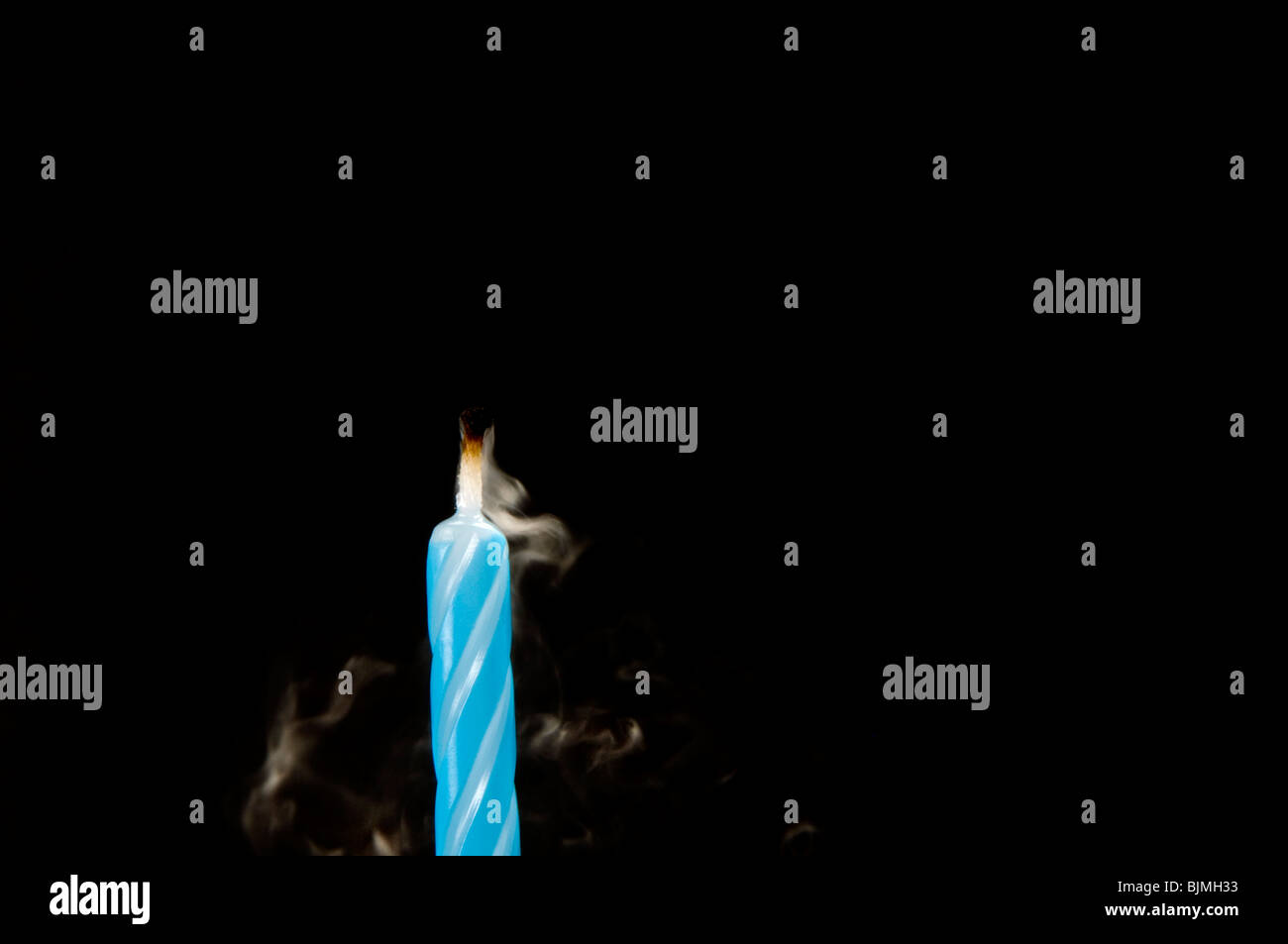 birthday candles - Stock Image