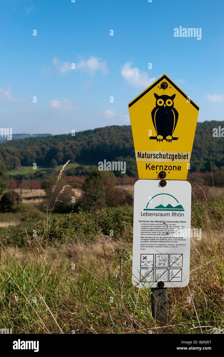 Hessian Rhoen Nature Reserve, Rhoen Biosphere Reserve, East Hesse, Hesse, Germany, Europe Stock Photo