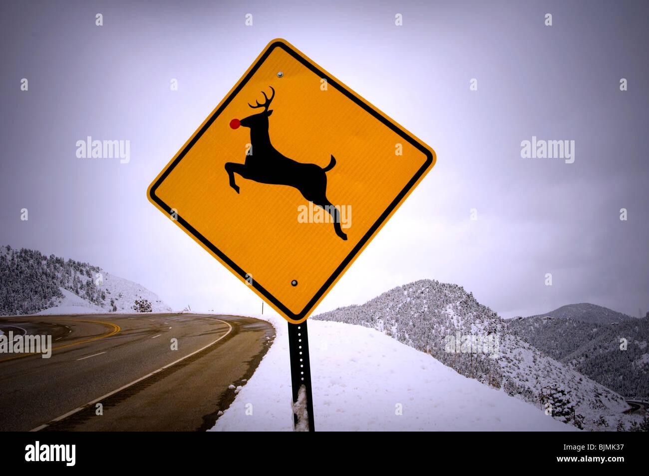 animal crossing sign - Stock Image