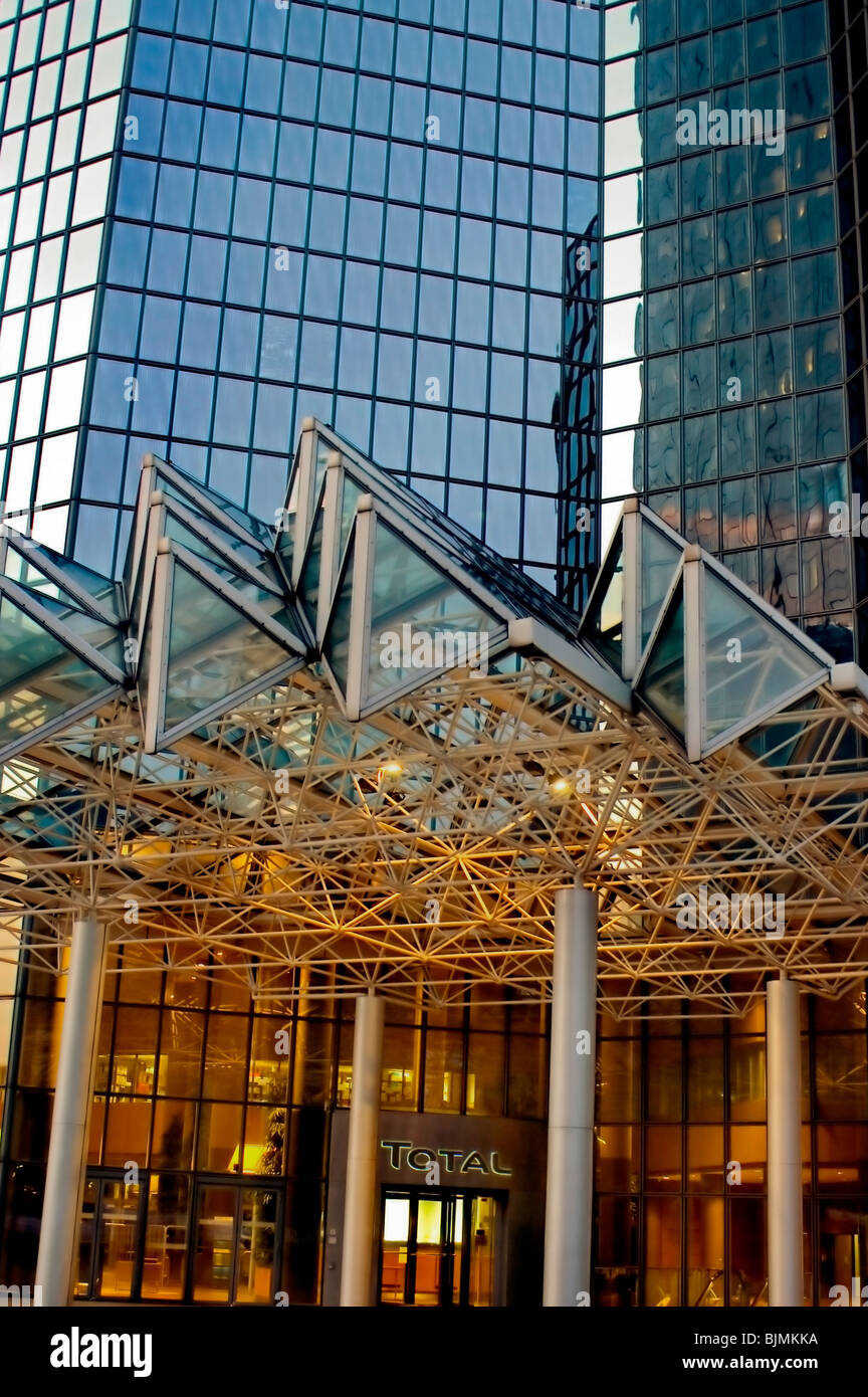 Paris, France, La Défense Business Center, Total SA, Corporate Headquarters - Stock Image